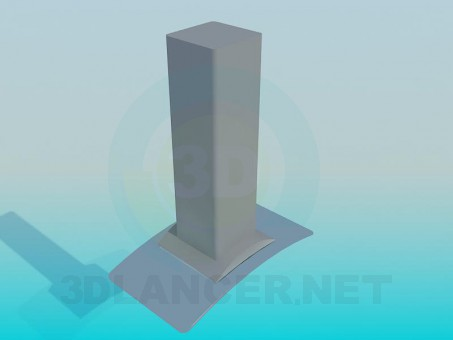 modelo 3D Campana - escuchar