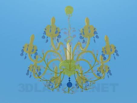 3d model Chandeliers with candelabra - preview