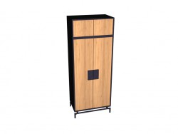 Cabinet 2-door with an extension