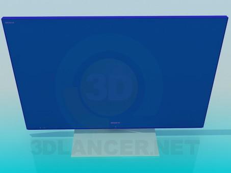 modelo 3D TV - escuchar