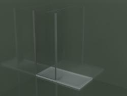 Pannello fisso SK + SZ per piatto doccia incasso o angolare