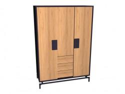 Wardrobe 3-door
