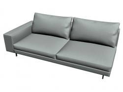 Sofa Sherman (221X84X103) (the element with the 1-m armrest SX)
