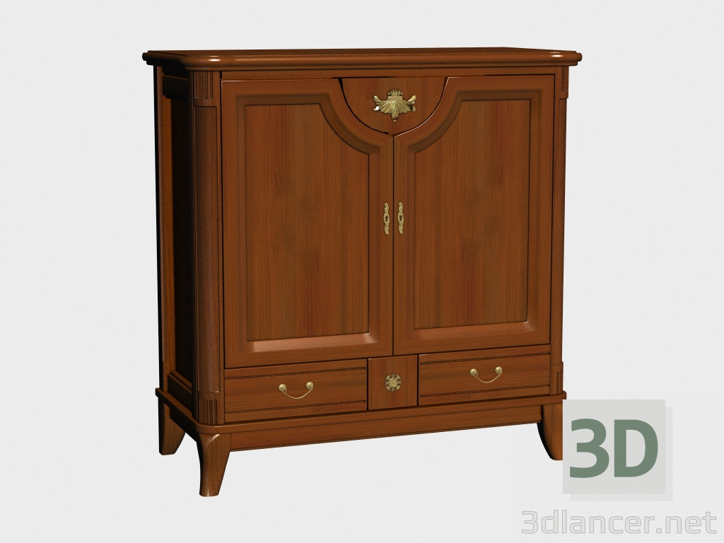 3d model sideboard 2d2s manufacturer klose id 17504 for Sideboard 3d