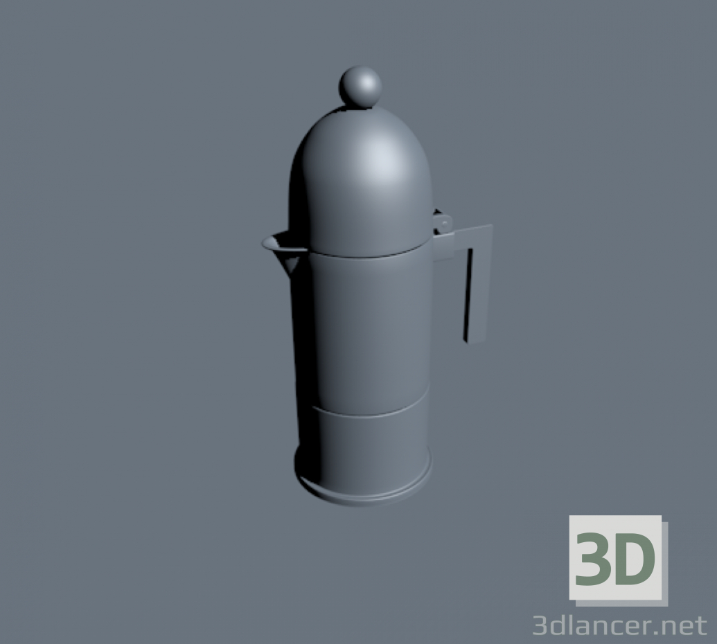 3d model Alessi dome - preview
