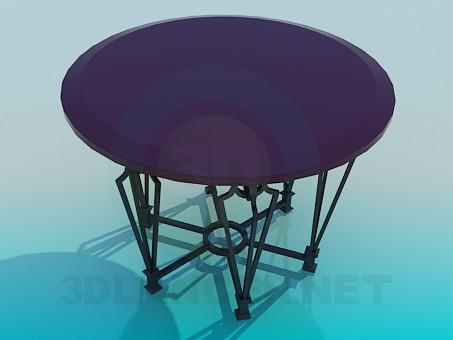 3d model Mesa de la barra - vista previa