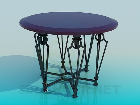3d model Bar table - preview