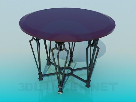 3d модель Стол барный – превью