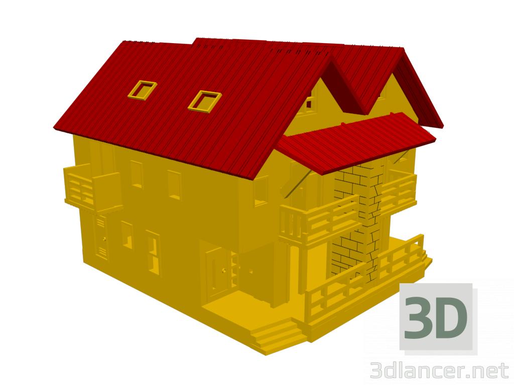 3d model Dollhouse - preview