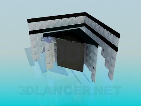 modelo 3D Lámpara de la esquina - escuchar