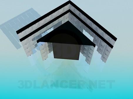 3d модель Кутовий світильник – превью