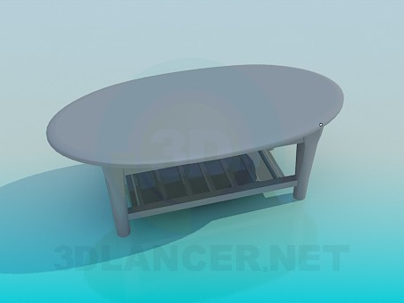 3d model Mesa de centro - vista previa
