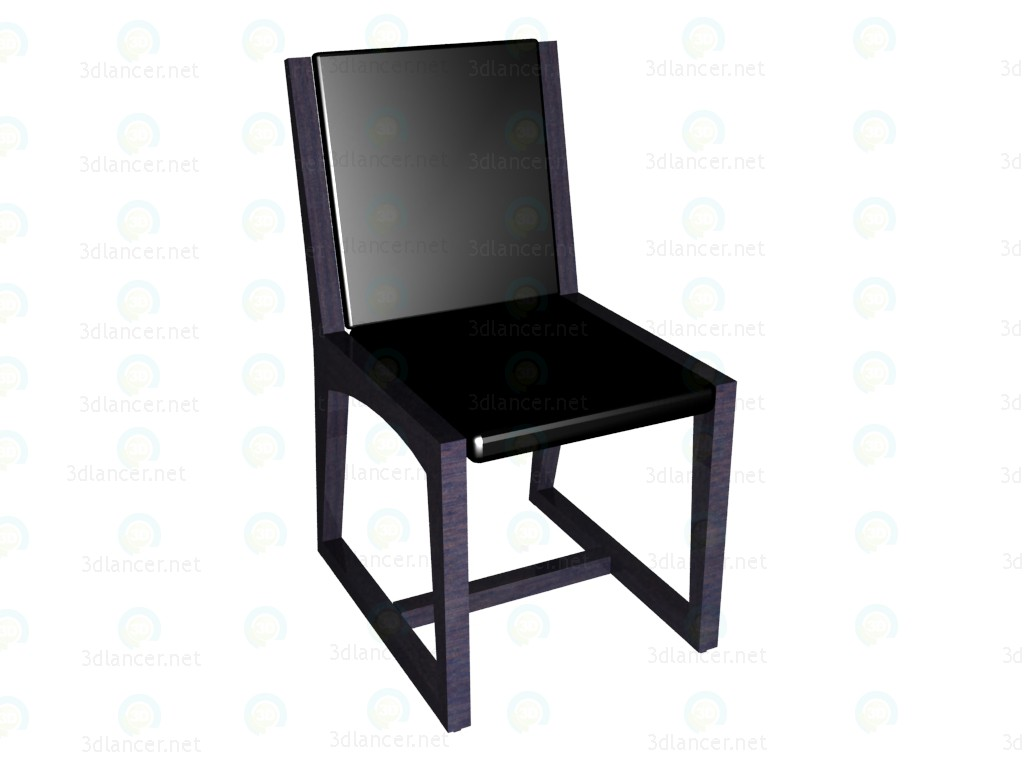 3d модель Кухонный стул – превью