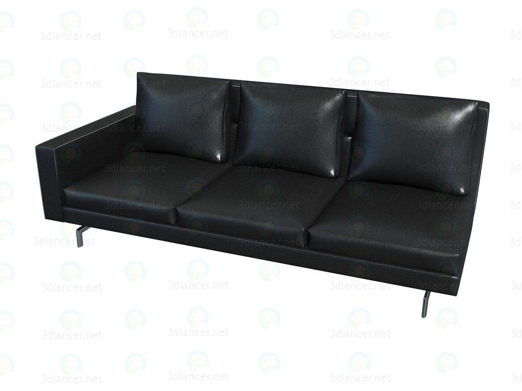 3d model Sofa Sherman. 93 High-Back (207X78X93) (the element with the 1-m armrest SX) - preview