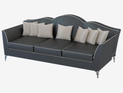 Sofá de cuero triple Avalon (250)