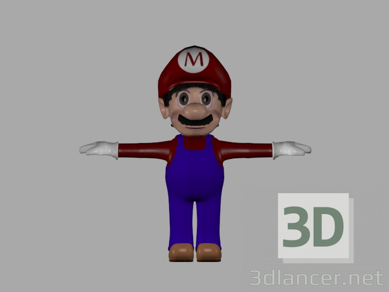 3d MarioBross model buy - render