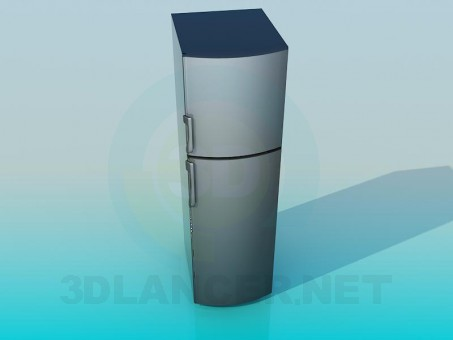 3d modeling Refrigerator model free download