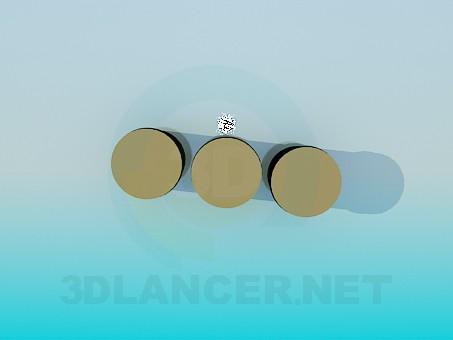 3d модель Баночки для круп – превью