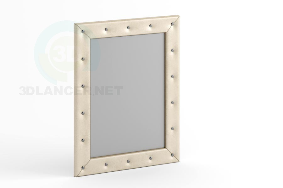 3d модель Зеркало 90 x 70 со стразами – превью