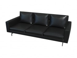 Sofa-Sherman. 93 High-Back (219 X 78 X 93)