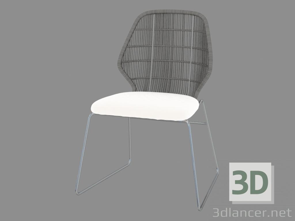 descarga gratuita de 3D modelado modelo Silla sin apoyabrazos
