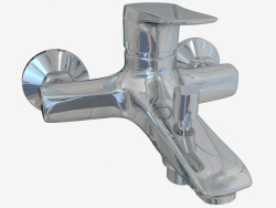 Wall-mounted bath mixer without shower set Gardenia (BEG 010M)