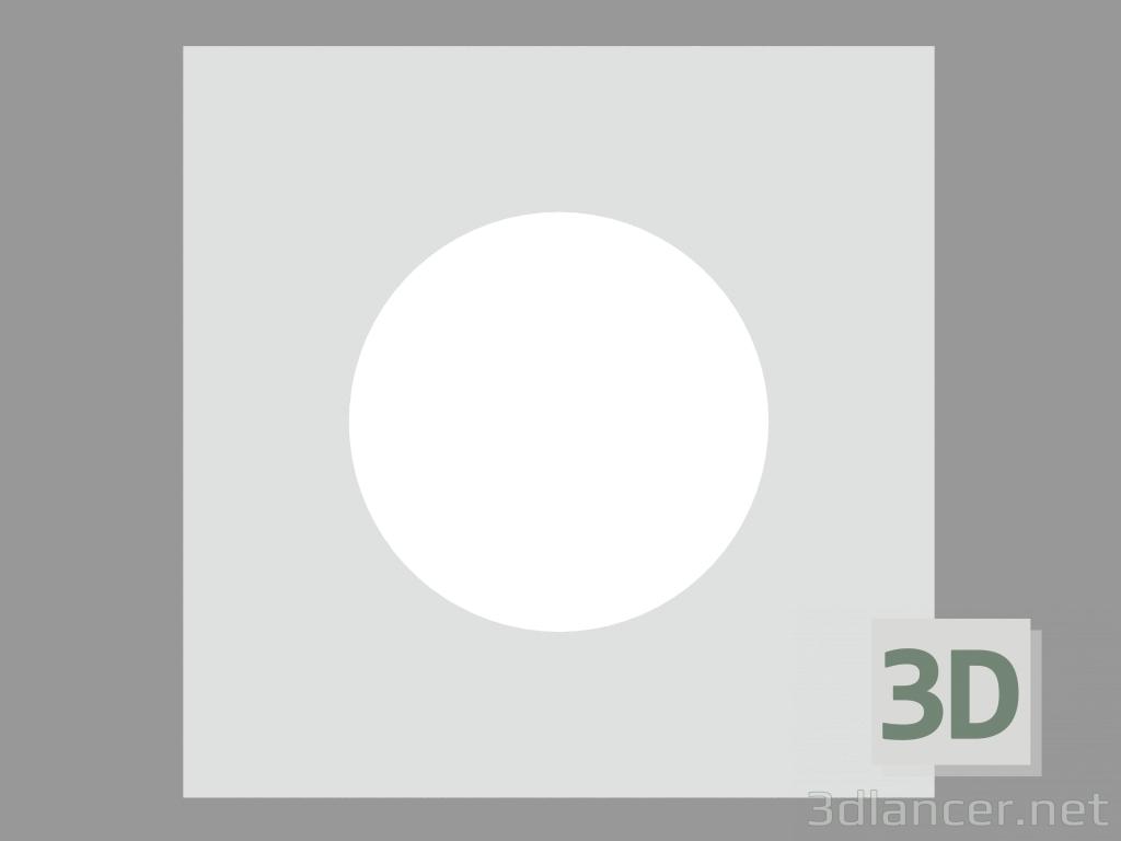 3 डी मॉडल साइडवॉक लैंप NANOLED WALK-OVER SQUARE 45 मिमी (S3265W) - पूर्वावलोकन