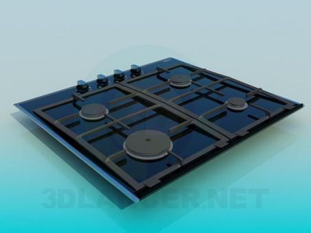 modelo 3D Construido en placa - escuchar