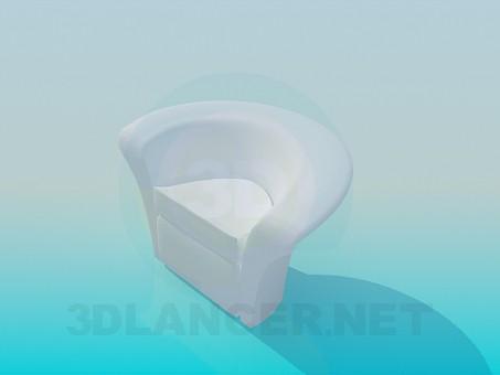 3d модель Небольшое кресло – превью