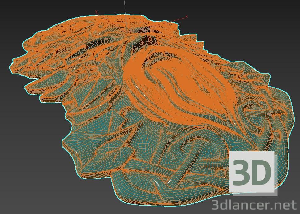 3d Water mask model buy - render