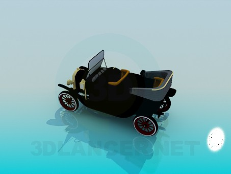 3d model Rarity car - preview