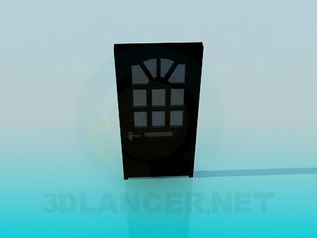 modello 3D Porte d'ingresso - anteprima