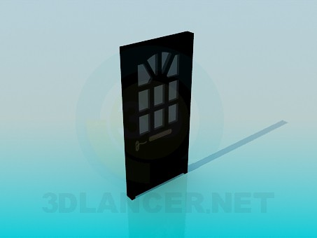 3d модель Вхідні двері – превью