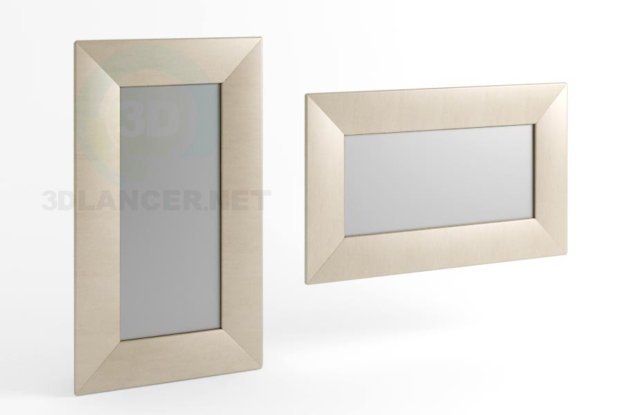 3d model 170 x 100 view mirror 1 - preview
