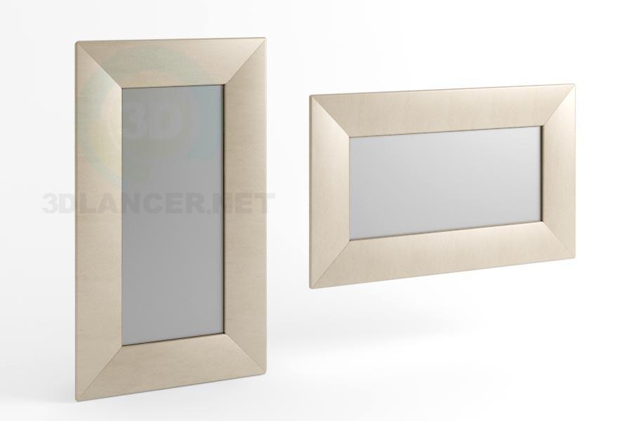3d модель Дзеркало 170 x 100 вид 1 – превью