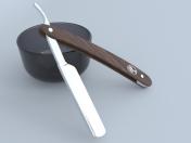 Tehlikeli tıraş bıçağı Solingen tıraş bıçağı Solingen