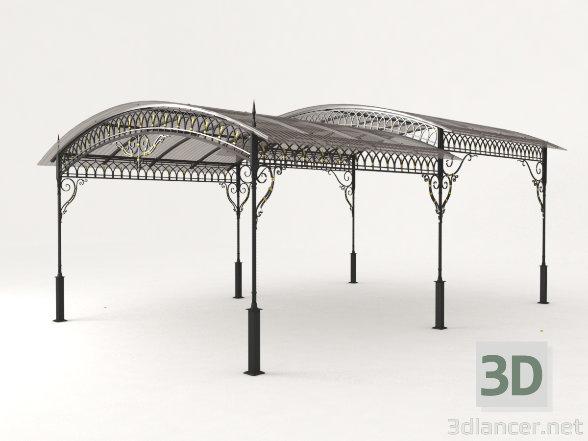 3d Peak forged 2-pitch model buy - render