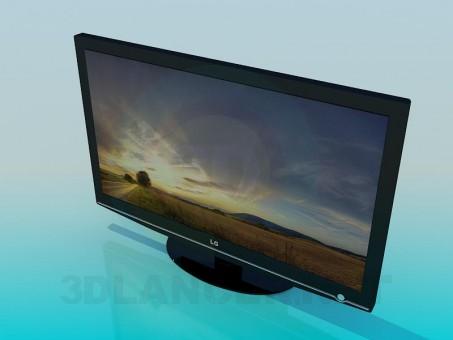 descarga gratuita de 3D modelado modelo TV