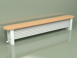 Banc de colonne Delta pour radiateur (H300 2500, RAL - 9016)