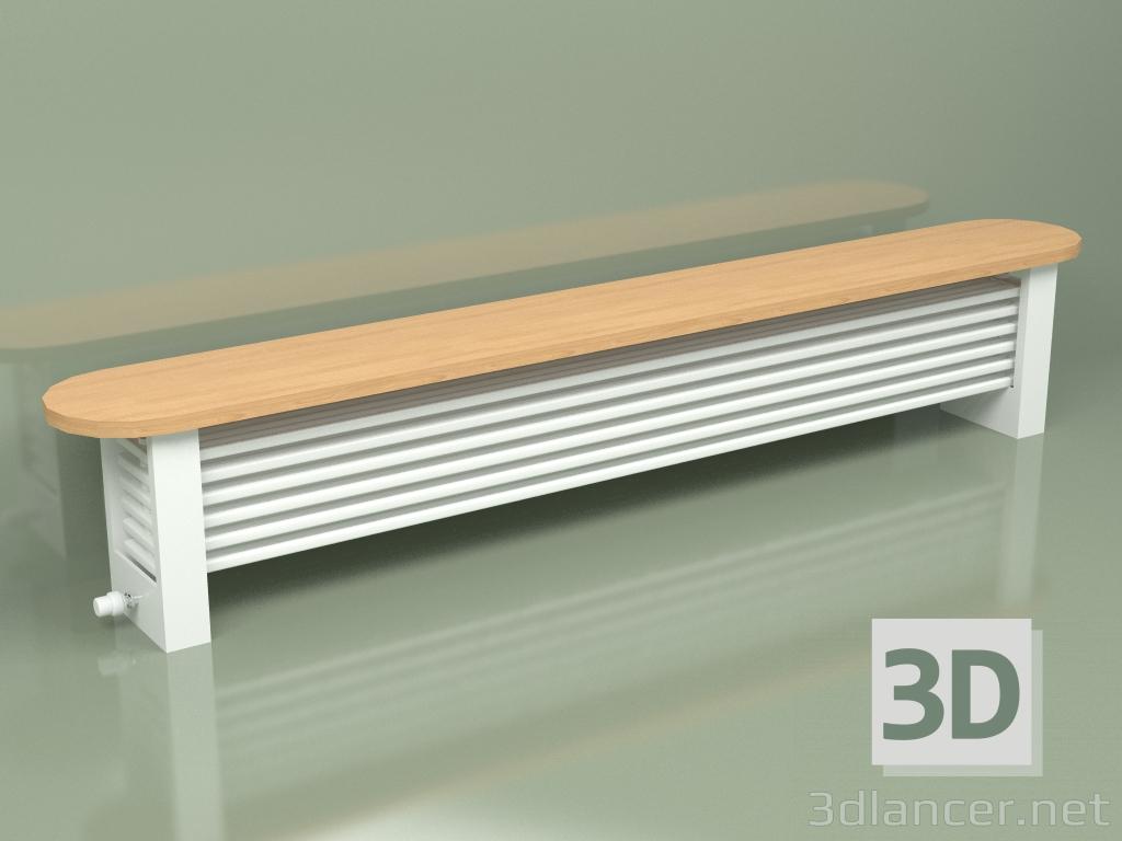 3d model Radiator Delta Column Bench (H300 2500, RAL - 9016) - preview
