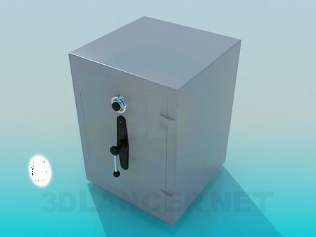 modelo 3D Caja fuerte - escuchar