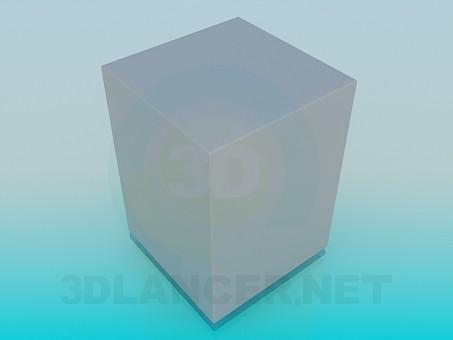 3d модель Сейф – превью