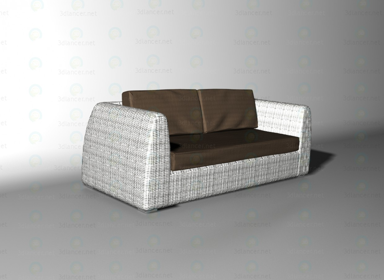 3d modell udine sofa vom hersteller villaverde id 11051. Black Bedroom Furniture Sets. Home Design Ideas