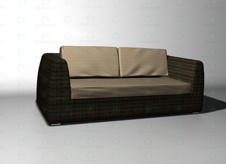 3d model Udine sofa - preview