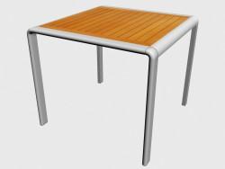 Table à manger, carrée Table dinante 51790