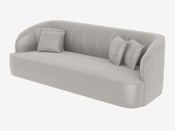 Sofa in the style of art deco CHARLOTTE (2800)