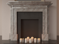 English style fireplace