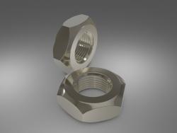 Nute hexagonale en acier
