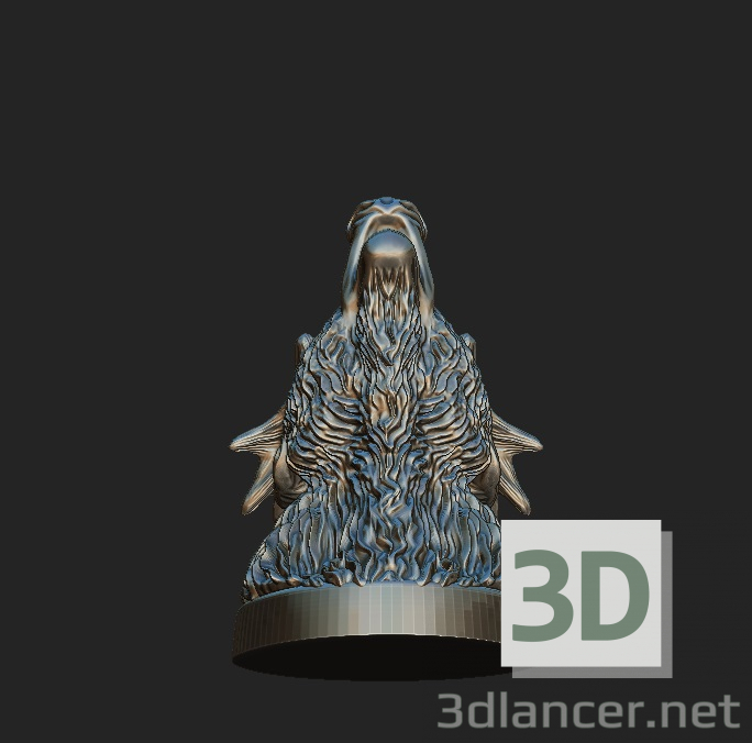 3d Noble deer model buy - render