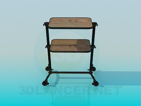 3d model Trolley - preview